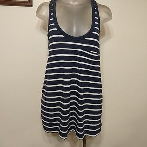 AEO Soft and Sexy Stripped Basic Tank Top Size S